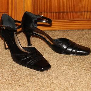 ANTONIO MELANI, buckle strap shoes, size 8M